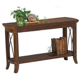 Cathedral Cherry Finish Sofa Table