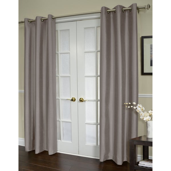 ATI Home Jaclyn Love Blackout 84-inch Curtain Panel Pair