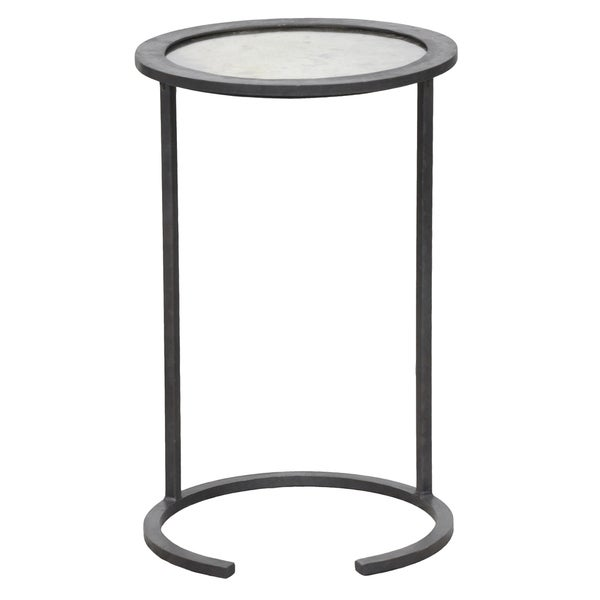 Kosas Home Landon Mirror Top Side Table