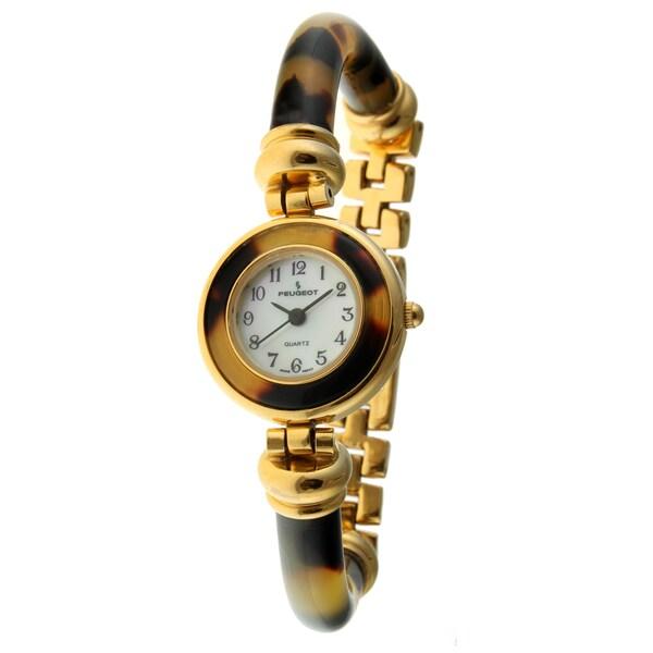 Peugeot Women's Vintage Tortoise Bracelet Watch