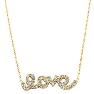 Fremada 14k Yellow Gold Cubic Zirconia Sideways Love Adjustable Necklace|https://ak1.ostkcdn.com/images/products/7708103/7708103/Fremada-14k-Yellow-Gold-Cubic-Zirconia-Sideways-Love-Adjustable-Necklace-P15114513.jpg?impolicy=medium