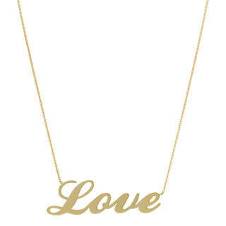 Fremada 14k Yellow Gold Polished Love Adjustable Necklace|https://ak1.ostkcdn.com/images/products/7708104/P15114510.jpg?impolicy=medium