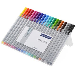 Staedtler 'Triplus Fineliner' Assorted Ink Super Fine Pens (Pack of 20)|https://ak1.ostkcdn.com/images/products/7708119/P15114581.jpg?impolicy=medium