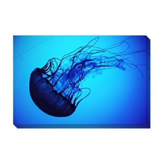 Gallery Direct Jelly Fish Oversized Gallery Wrapped Canvas