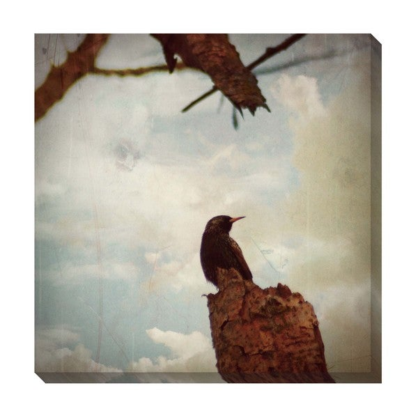 Gallery Direct Lone Bird Oversized Gallery Wrapped Canvas