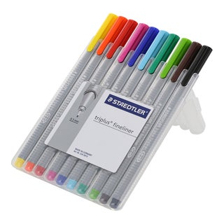 Staedtler 'Triplus Fineliner' Porous Point Pens (Pack of 10)