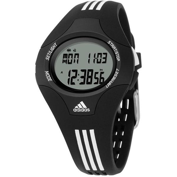 Adidas Women's Response Black Resin Quartz Watch with Digital Dial