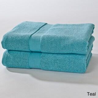 Calcot Supima Zero Twist Bath Sheet (Set of 2)