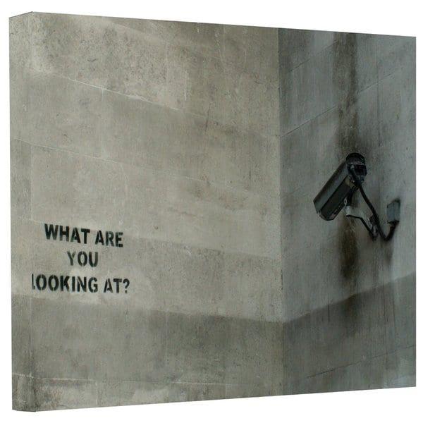 Banksy  'CCTV Camera' Gallery-wrapped Canvas