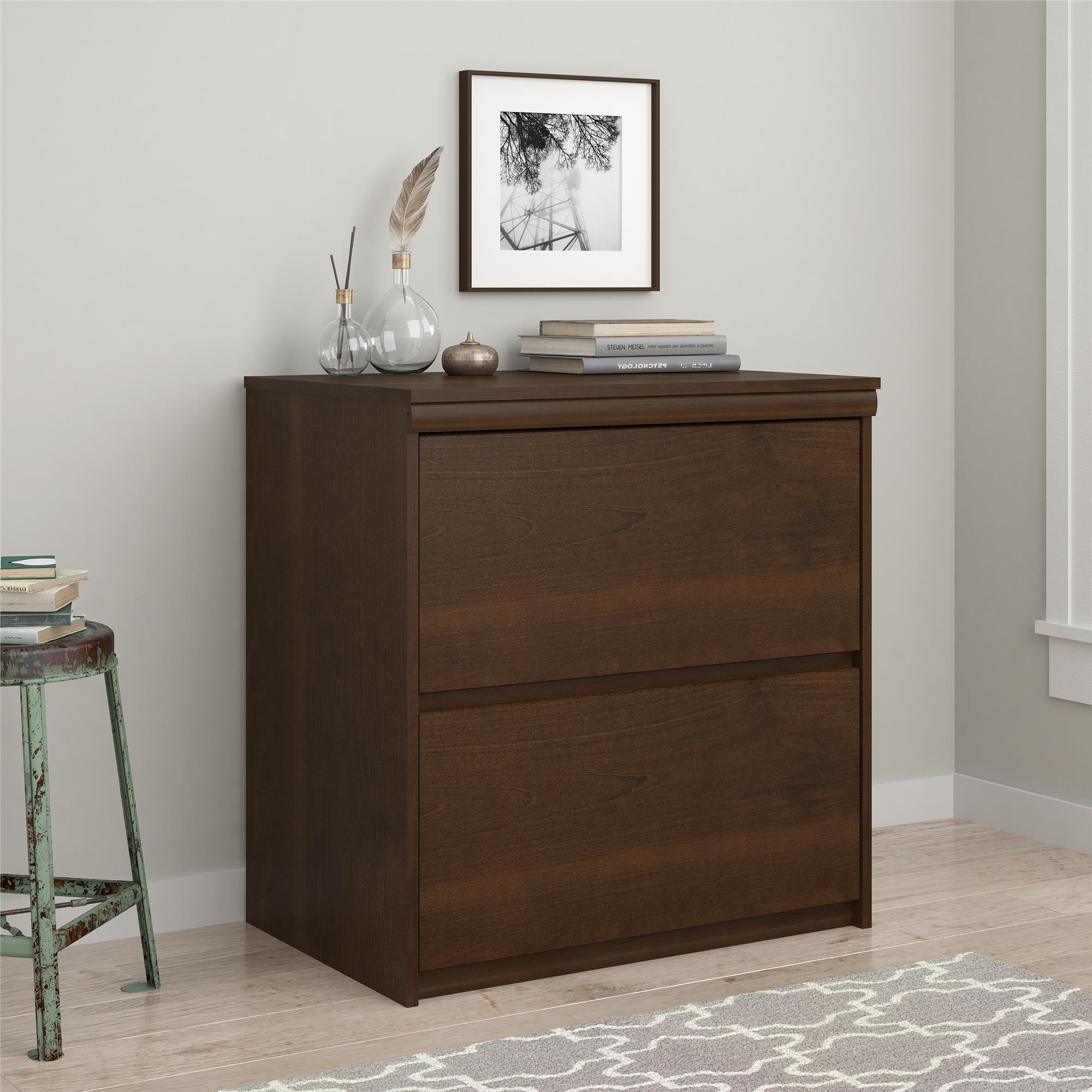Ameriwood Home 2-drawer Lateral File Cabinet (Two Drawer ...