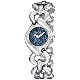 Festina Women's Dame Blue Dial and Silver Stainless Steel Quartz Watch