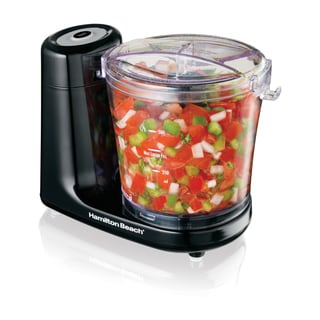 Hamilton Beach Black 3 Cup Touchpad Food Chopper