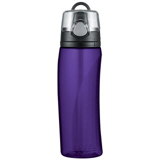 Thermos HP4000DPTR16 24-ounce Deep Purple Hydration Bottle With Meter
