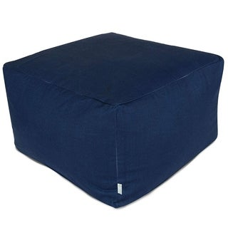 Indoor/Outdoor Majestic Home Goods Solid Large Ottoman