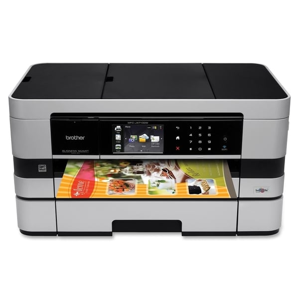 Brother Business Smart MFC-J4710DW Inkjet Multifunction Printer - Col