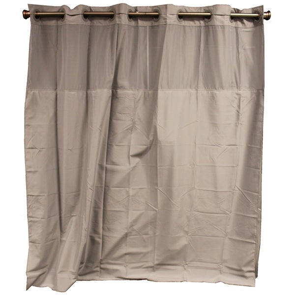 Hookless Frost Grey Shower Curtain Free Shipping On Orders Over 45 Overs