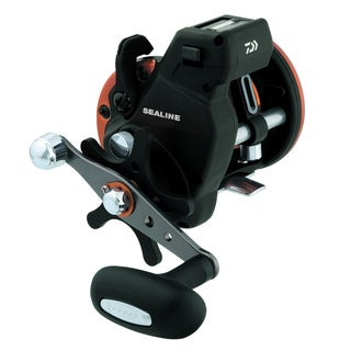 Daiwa Sealine SG-3B Line Counter Reel 3 Ball Bearings 14 Pounds/300 Yards 4.2:1 SG27LC3B