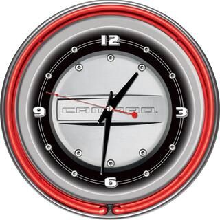 Camaro 14 Inch Neon Clock|https://ak1.ostkcdn.com/images/products/7709322/7709322/Camaro-14-Inch-Neon-Clock-P15115448.jpg?impolicy=medium