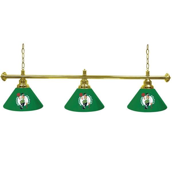 Boston Celtics 60-inch NBA 3 Shade Billiard Lamp