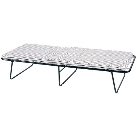 StanSport Steel Cot with Mattress