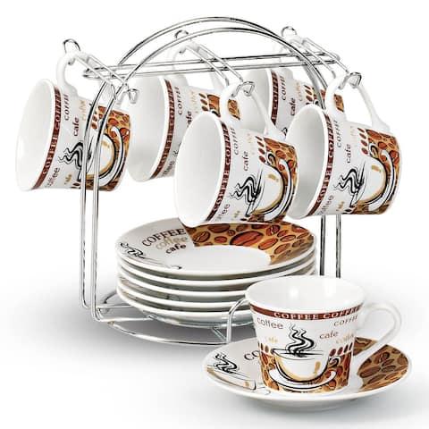 Lorren Home Trend Coffee Design Espresso Set