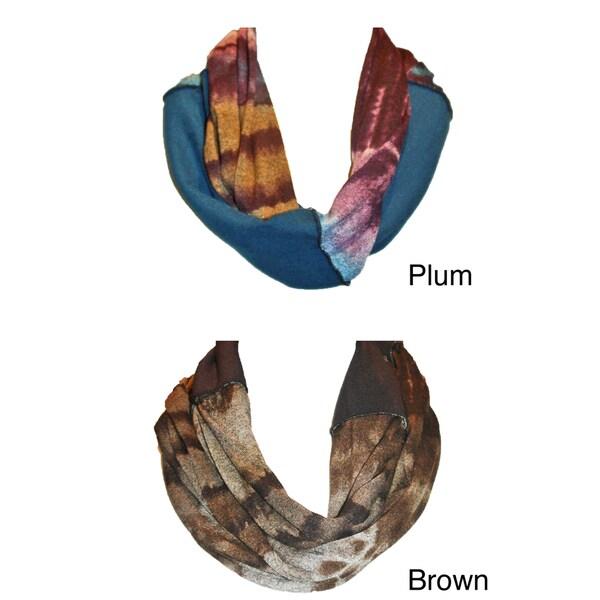 Cuff Luv Infinity Scarf Tie Dye