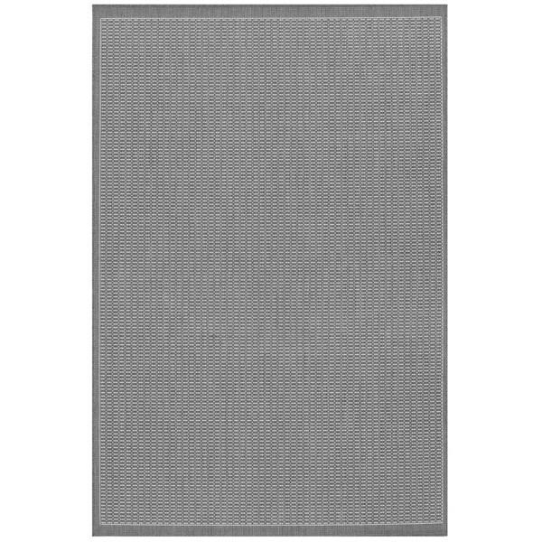 Pergola Deco Grey-White Indoor/Outdoor Area Rug - 8'6 x 13'