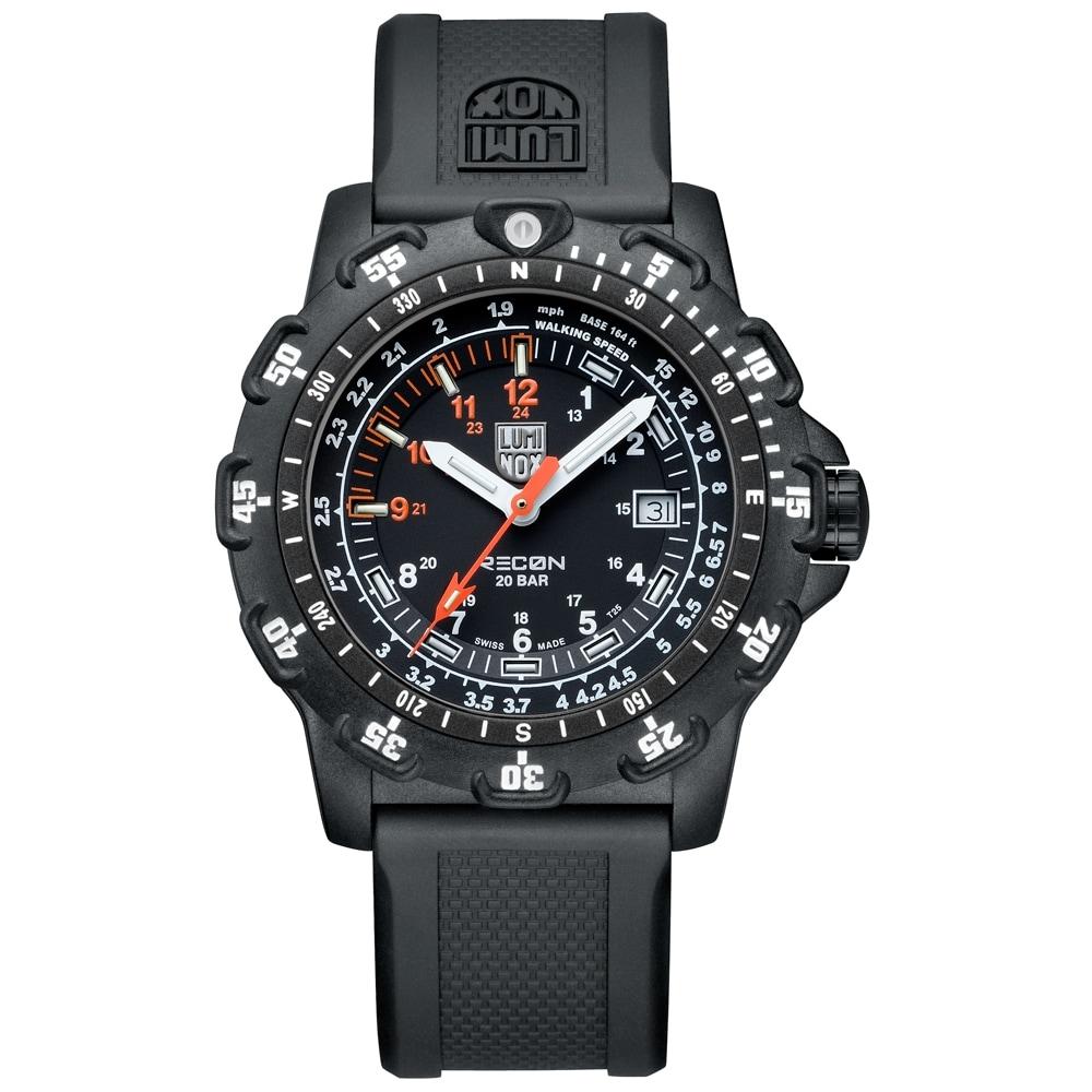 Luminox Men's 'Recon Point' Black Strap Watch (Luminox Me...