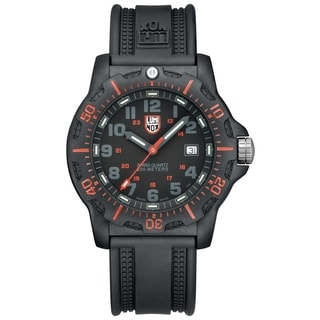Luminox Men's SEAL Black Resin Strap Analog Watch