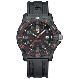 Luminox Men's SEAL Black Resin Strap Analog Watch