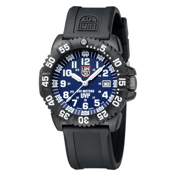 Luminox Men's 'Evo' Navy SEAL Colormark Black/ Blue Watch