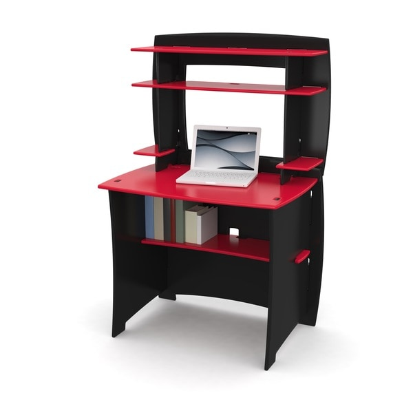 Legare Red/ Black 36-inch Kids Desk and Hutch