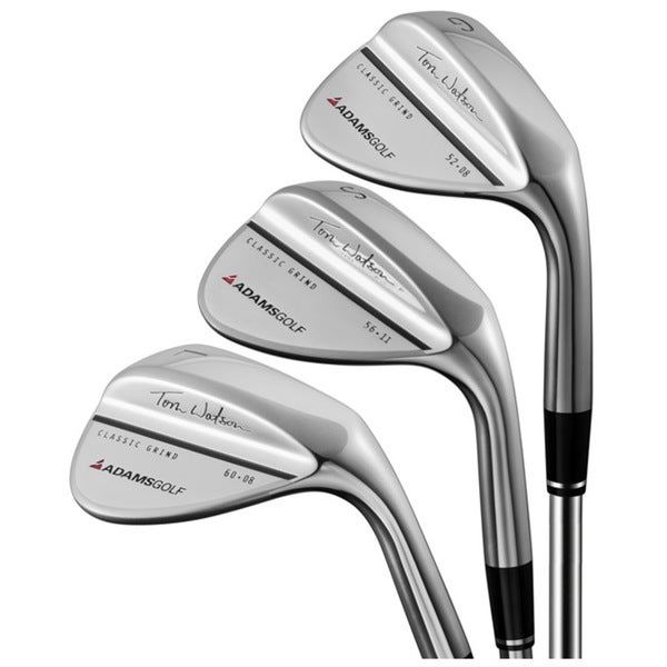 Adams Men's Tom Watson 3-piece Wedge Set