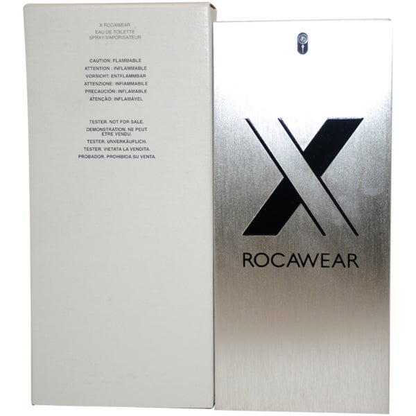 Rocawear 'X' Men's 3.4-ounce Eau de Toilette Spray (Tester)
