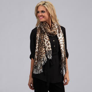 Peach Couture Leopard Print Wrap Scarf|https://ak1.ostkcdn.com/images/products/7710606/7710606/Peach-Couture-Leopard-Print-Pashmina-Wrap-Scarf-P15116319.jpg?impolicy=medium