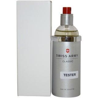 Swiss Army Men's 3.4-ounce Eau de Toilette Spray (Tester)