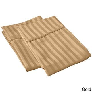 Superior Microfiber Stripe Pillowcase (Set of 2)