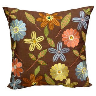 'Milena' Floral Embroidered Jewel Embellished 18x18-inch Throw Pillows (Set of 2)|https://ak1.ostkcdn.com/images/products/7710776/P15116474.jpg?impolicy=medium