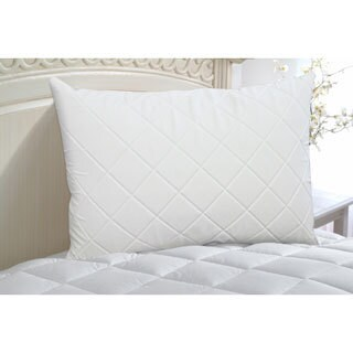 Rest Remedy Down Alternative Support Pillow with Quilted Memory Foam Cover