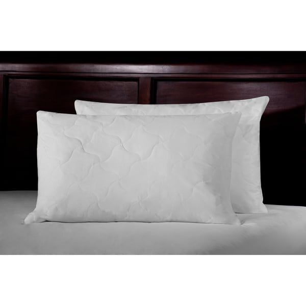 Rest Remedy White Duck Feather Pillow (Set of 2)