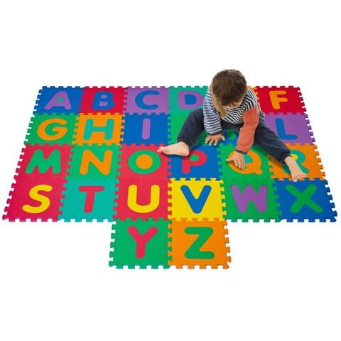 Trademark Games Kid's Foam Floor Alphabet Puzzle Mat