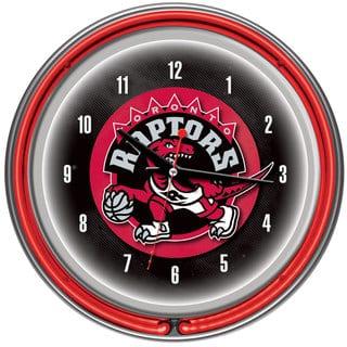 Toronto Raptors NBA Chrome Double Neon Ring Clock|https://ak1.ostkcdn.com/images/products/7710961/7710961/Toronto-Raptors-NBA-Chrome-Double-Neon-Ring-Clock-P15116613.jpg?impolicy=medium