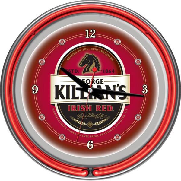 George Killian's Double Neon Ring Clock