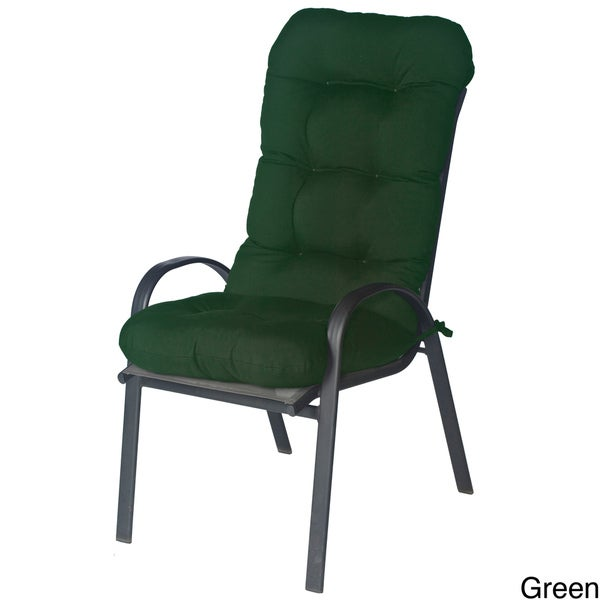 Outdoor All-Weather Fabric Chair Cushion
