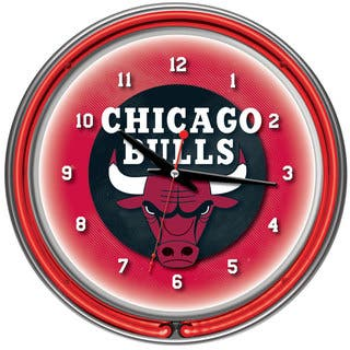 Chicago Bulls NBA Chrome Double Neon Ring Clock|https://ak1.ostkcdn.com/images/products/7711042/7711042/Chicago-Bulls-NBA-Chrome-Double-Neon-Ring-Clock-P15116682.jpg?impolicy=medium