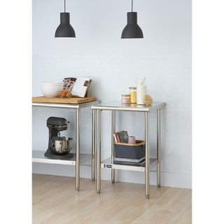Link to Trinity EcoStorage™ 24-inch Stainless Steel Table Similar Items in Kitchen Furniture