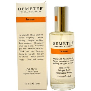Demeter Incense Women's 4-ounce Cologne Spray