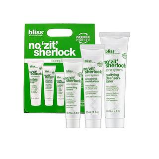 Bliss No Zit Sherlock Acne System 3-Piece Starter Kit