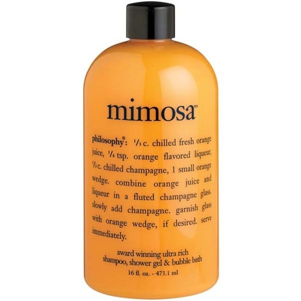 philosophy mimosa shampoo bubble bath and shower gel philosophy sparklling cranberry bubbly shampoo bath and