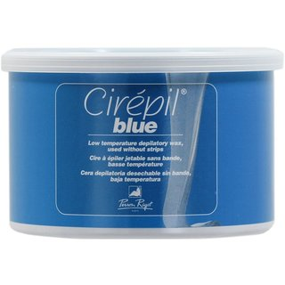 Cirepil Blue 14.1-ounce Low-temp Body Wax Tin